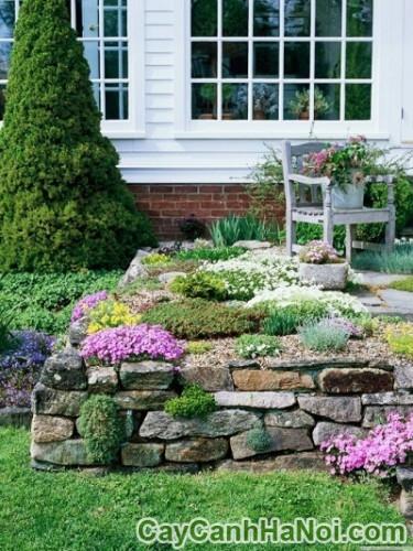 10 ý tưởng tạo sân vườn đẹp giá rẻ