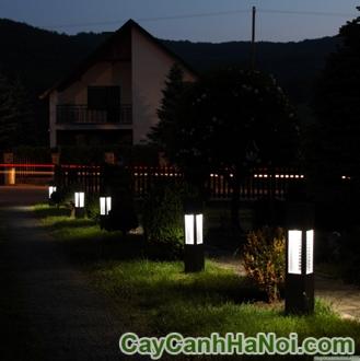 Chiếu Sáng Công Viên Sân Vườn Bằng Các Loại Đèn Năng Lượng Mặt Trời
