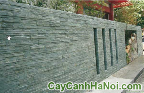 Đá ốp tường giúp làm đẹp cho khu vườn