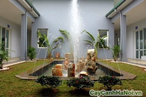 Tiểu cảnh đài phun nước