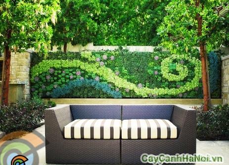 Vườn trên tường ngoài trời