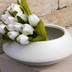 Chậu hoa composite iPot tròn sang trọng| IP-00061
