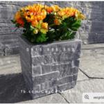 Chậu cây cảnh composite iPot vuông | IP-00089