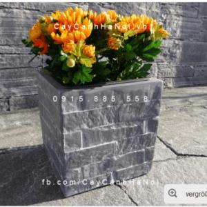 Chậu cây composite iPot vuông cao cấp| IP-00088