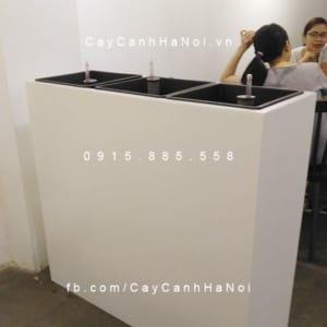 Chậu composite iPot hình chữ nhật lớn| IP-00154