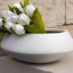 Chậu hoa composite iPot tinh tế| IP-00062