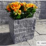 Chậu hoa composite iPot vuông cao cấp| IP-00091