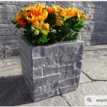 Chậu hoa composite iPot vuông | IP-00095