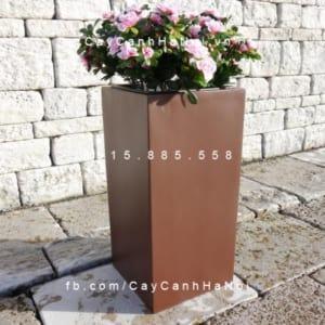 Chậu nhựa composite iPot trồng cây cao cấp | IP-00019
