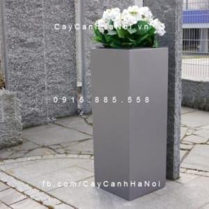 Chậu nhựa composite iPot trồng cây cao cấp | IP-00020