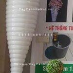 Chậu nhựa composite iPot trồng cây độc lạ  IP-00025