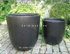 Chậu trồng cây composite iPot sang trọng | IP-00009