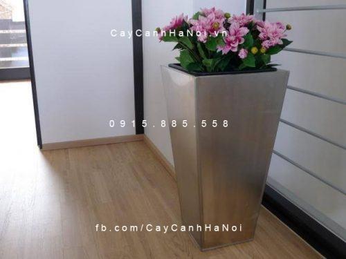 Chậu trồng cây composite iPot vát đáy | IP-00069