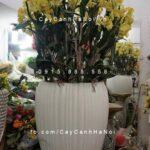 Chậu hoa trồng cây composite iPot xọc dọc| IP-00108