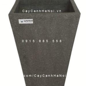 Chậu đá mài Atin Havico vuông cao vát đáy| CM-255