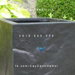 Chậu hoa composite Havico hình vuông| HVC-00024