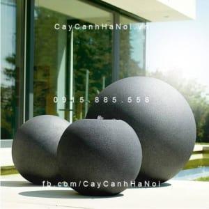 Đài phun nước Esteras BALL màu đá đen